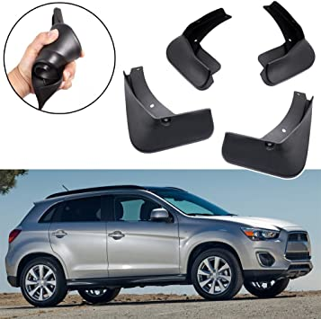Car Mud Flaps Splash Guards Fender Mudguard for Mitsubishi Outlander 2016-2019