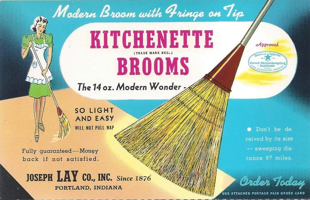 Original Kitchenette Broom - 6 Pack by Kitchenette Broom