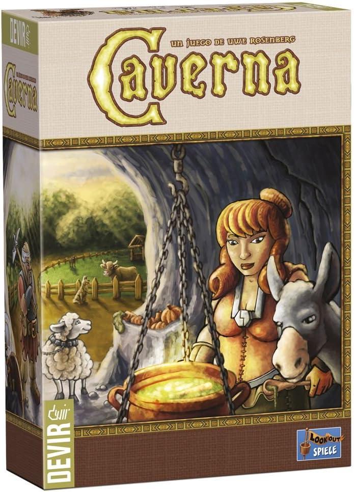 Devir - Caverna (BGHCAVERNA1): Amazon.es: Juguetes y juegos