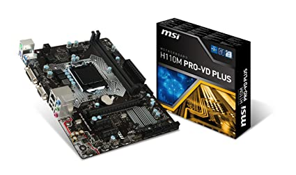 MSI H110M PRO-VD PLUS WINDOWS 8 DRIVER DOWNLOAD