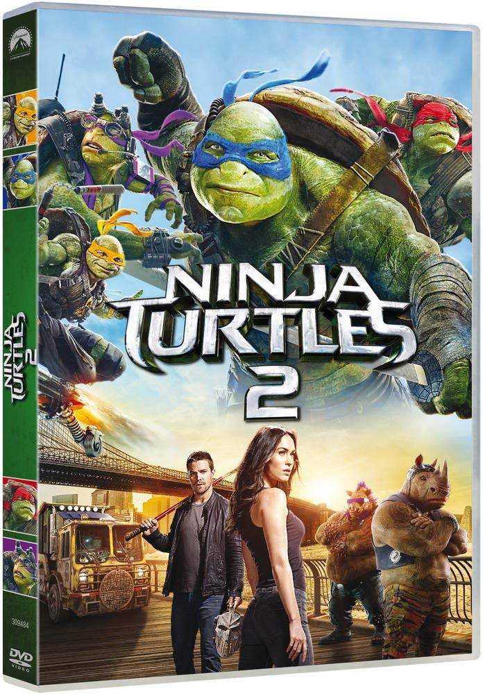 Ninja Turtles 2 [Italia] [DVD]: Amazon.es: Megan Fox, Will ...
