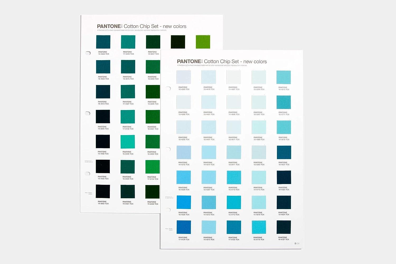 Pantone Cotton Chip Set Supplement - 2020 Edition