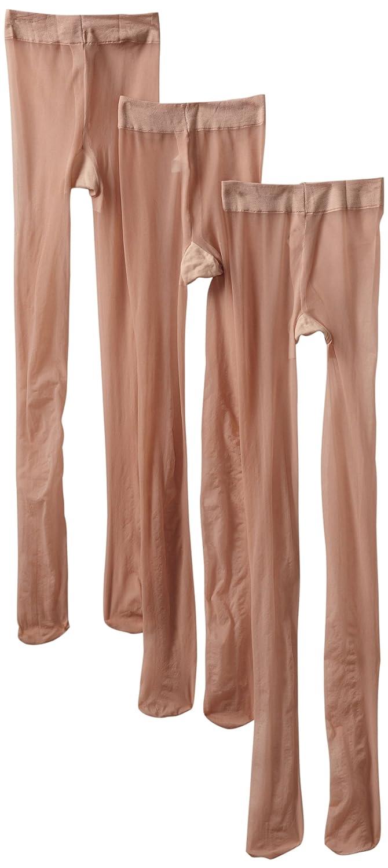 Jefferies Socks Little Girls' Jr Miss Pantyhose Tights (Pack of 3) Jefferies Socks Girls 2-6x 6871