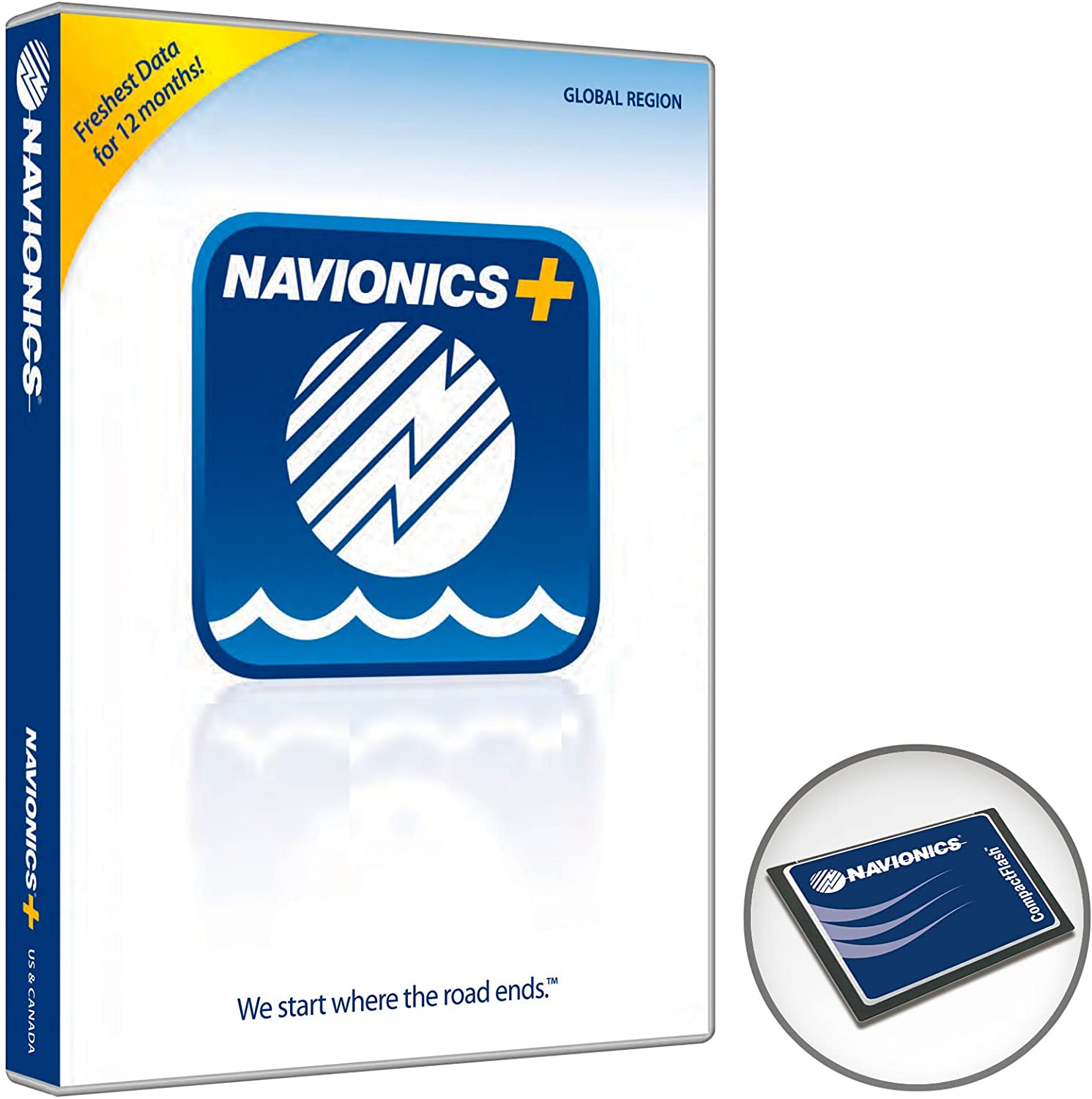 Navionics+ World Regions on CF Card: Amazon.es: Electrónica