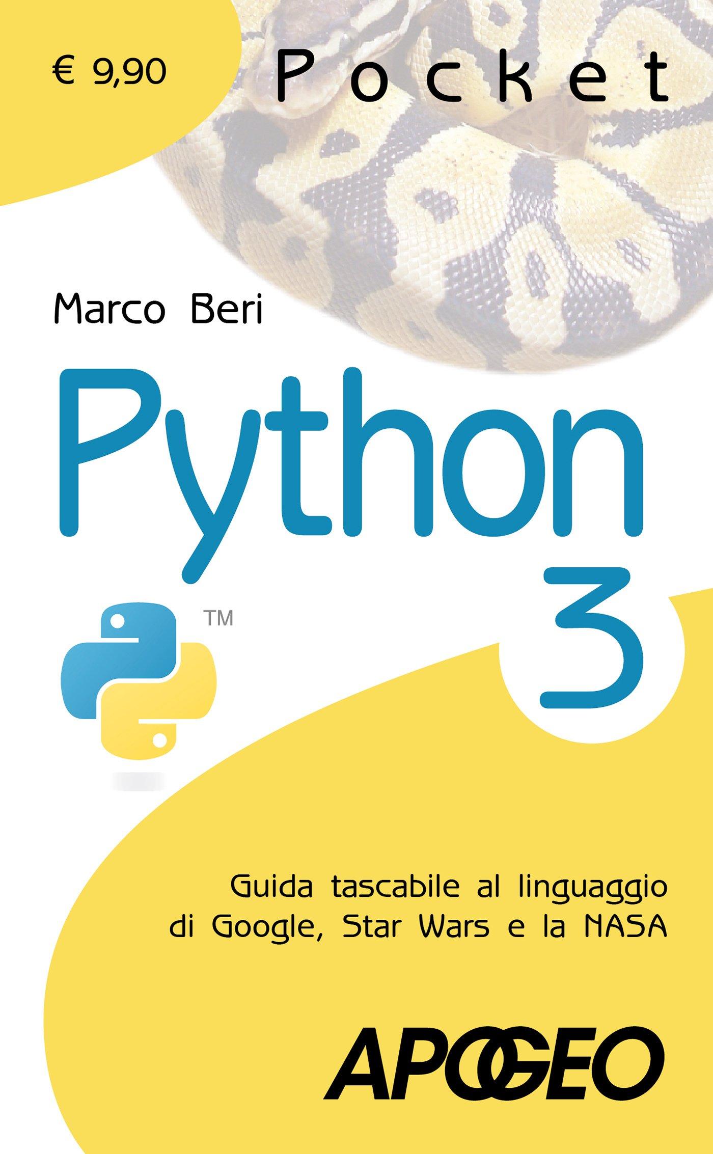 Amazon.it: Python 3. Guida tascabile al linguaggio di Google, Star ...