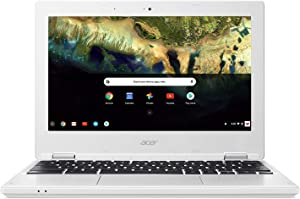Newest Acer 11.6inch HD IPS Chromebook, Intel Celeron N3060 Up to 2.48GHz Processor, 2GB RAM,16GB SSD, WiFi, HDMI, Chrome OS (Renewed) (N3060/16GB/IPS)