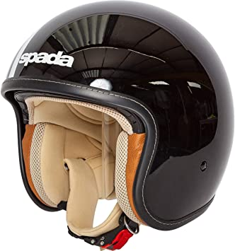 Spada Raze Sandanista Motorcycle Motorbike Open Face Helmet Sand//Tan