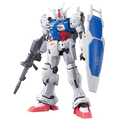 Bandai Hobby Real Grade #12 Gundam GP01 Zephyranthes Action Figure Model Kit, 1/144 Scale: Toys & Games