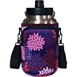 Koverz One Gallon Jug Carrier, Compatible with Yeti & RTIC One Gallon Jugs - Midnight Mums