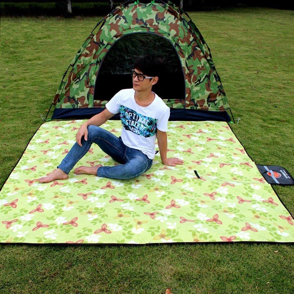 Wangmy Wangmy Wangmy Picknick-Matte Outdoor-Frühjahr Camping Portable Verdickung Matten Camp Picknick-Matte Wild Park Mats 200  200cm B07CQKZ17S | Online-verkauf  526083