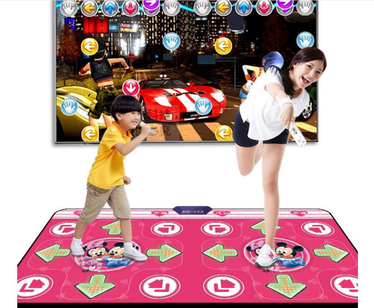 QXMEI Dual-use Dance Mat Double Computer TV Interface Thick Wireless Body Dance Machine by QXMEI (Image #1)