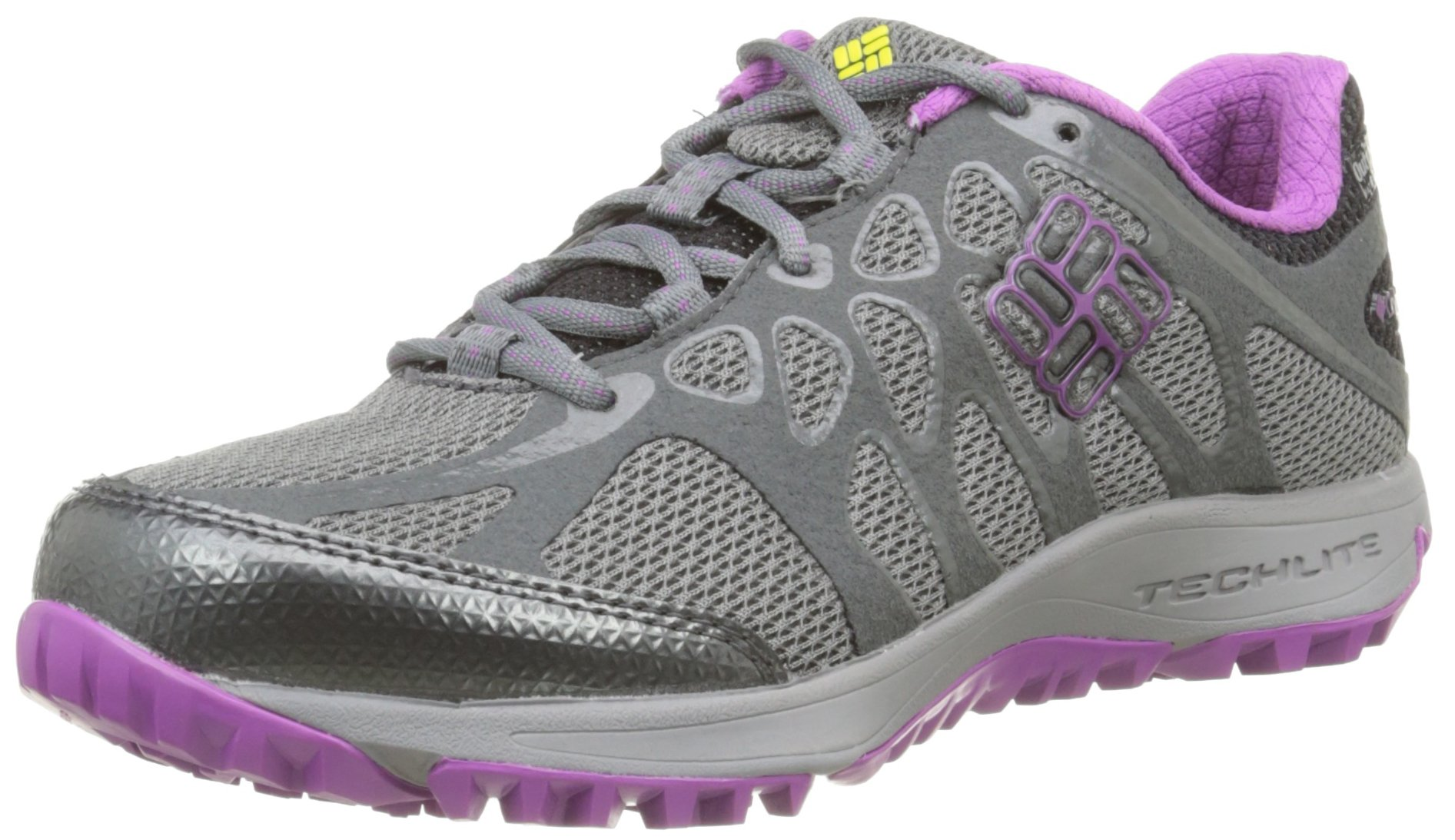 Columbia Women's Conspiracy Titanium Outdry Trail Outdoor Sneakers, Grey Mesh, 8 M