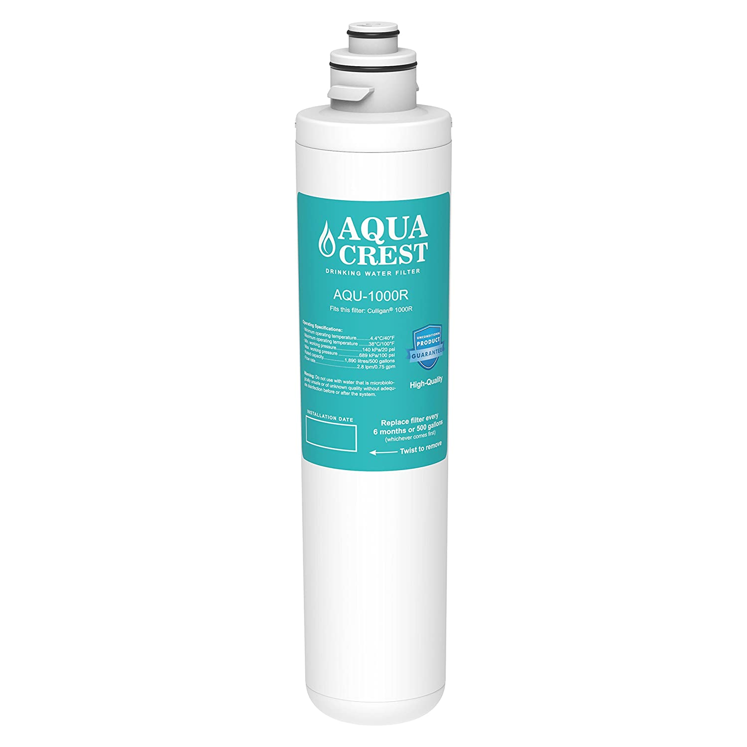 AQUACREST 1000R Replacement for Culligan 1000R Water Filter Cartridge