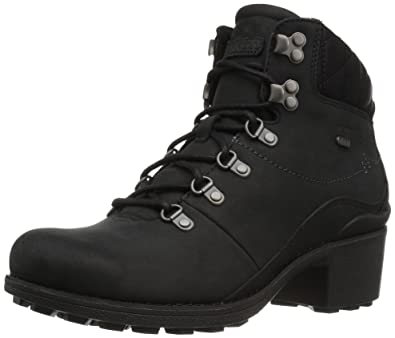 Merrell Women's Chateau Mid Lace Waterproof Snow Boot, Black, ...