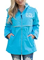 Sidefeel Women Lightweight Outdoor Hoodie Waterproof Raincoat Jacket
