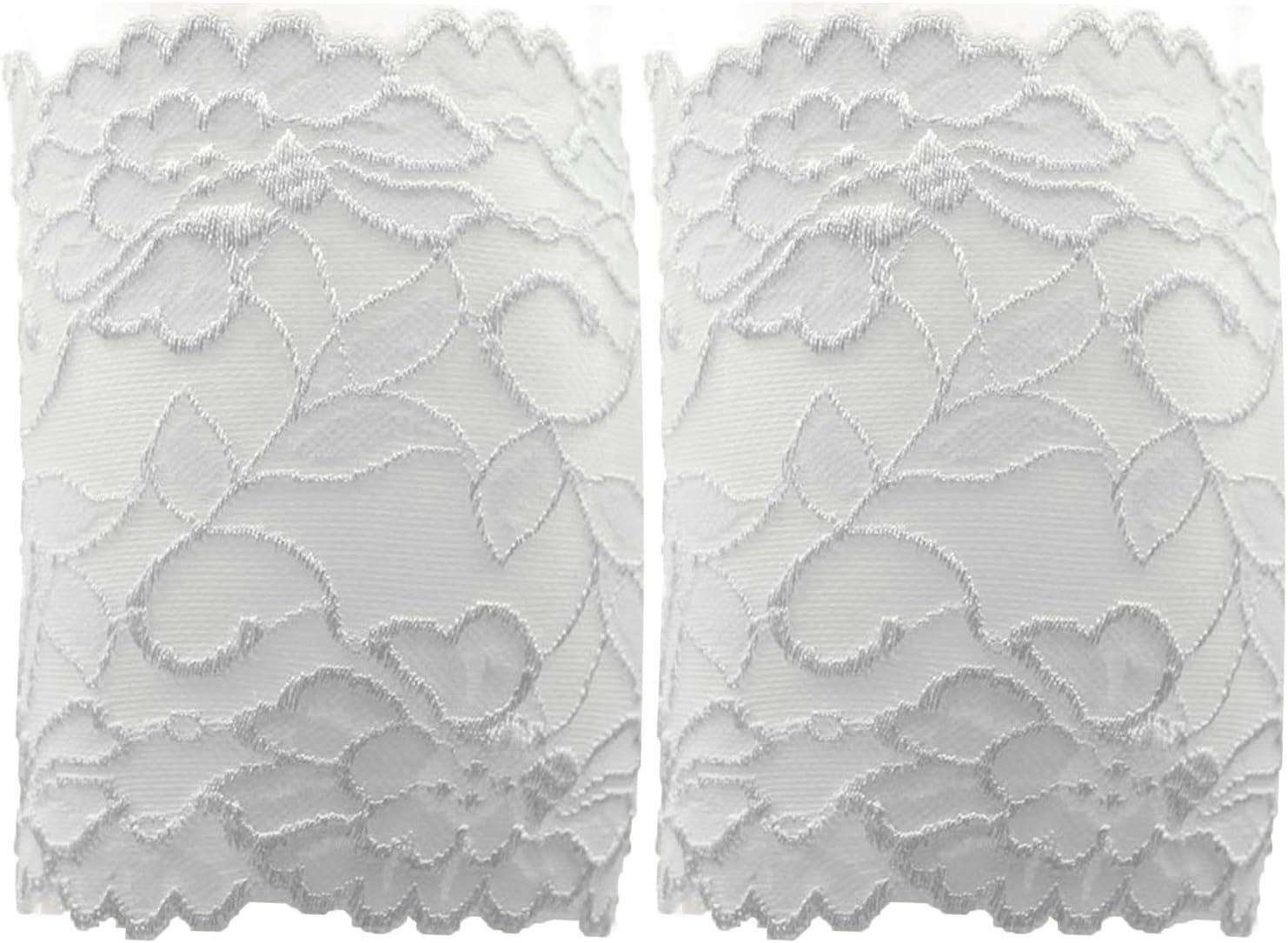 Bianco, Nero, Menta Verde Beetest 3 Paio Donna Floreale Pizzo Autunno Inverno Scaldamuscoli Avvio Polsini Calzini Calzettoni