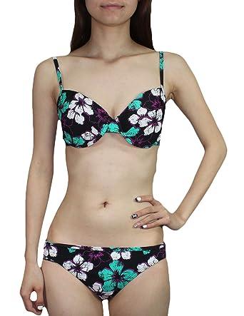 fb5f0b52e67fc KangaROOS 2 PCS Set Womens Bikini Top   Bottom Dri-Fit Surf Swimsuit   Amazon.co.uk  Clothing