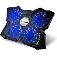 Tarkan Heavy Duty [4 Fans] LED Cooling Pad [Suitable For Upto 17 Inch Laptops]