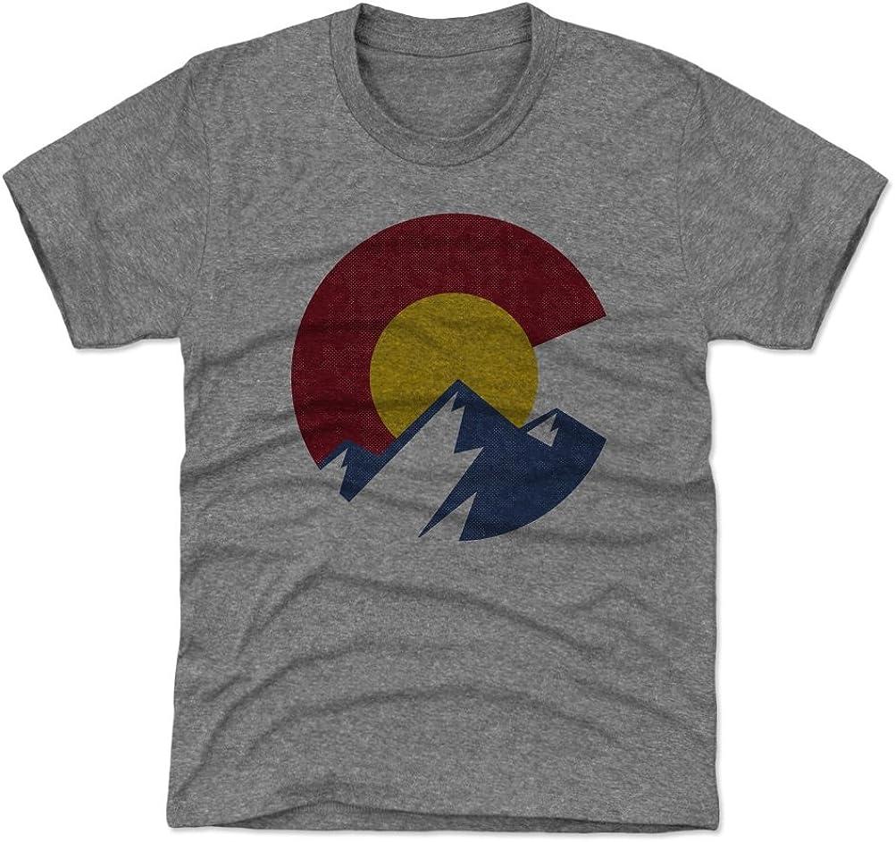 HTUAEUEHRH Colorado Flag Bear Grund Baby Boys Toddler Short Sleeve T-Shirts Tees