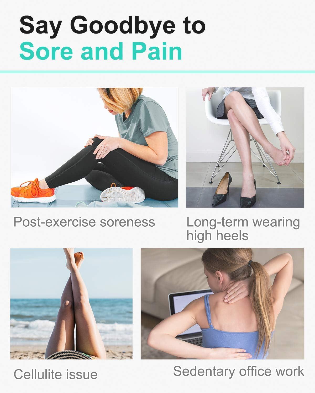 Amazon.com: tumaz Stick, de masaje rodillo muscular para ...