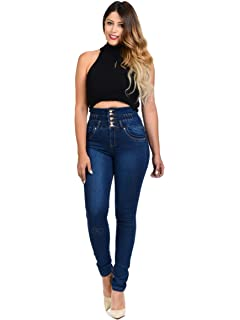 Made In Colombia Colombian Push UP Jean Jean Levantacola CHEVIOTTO Ref 10310