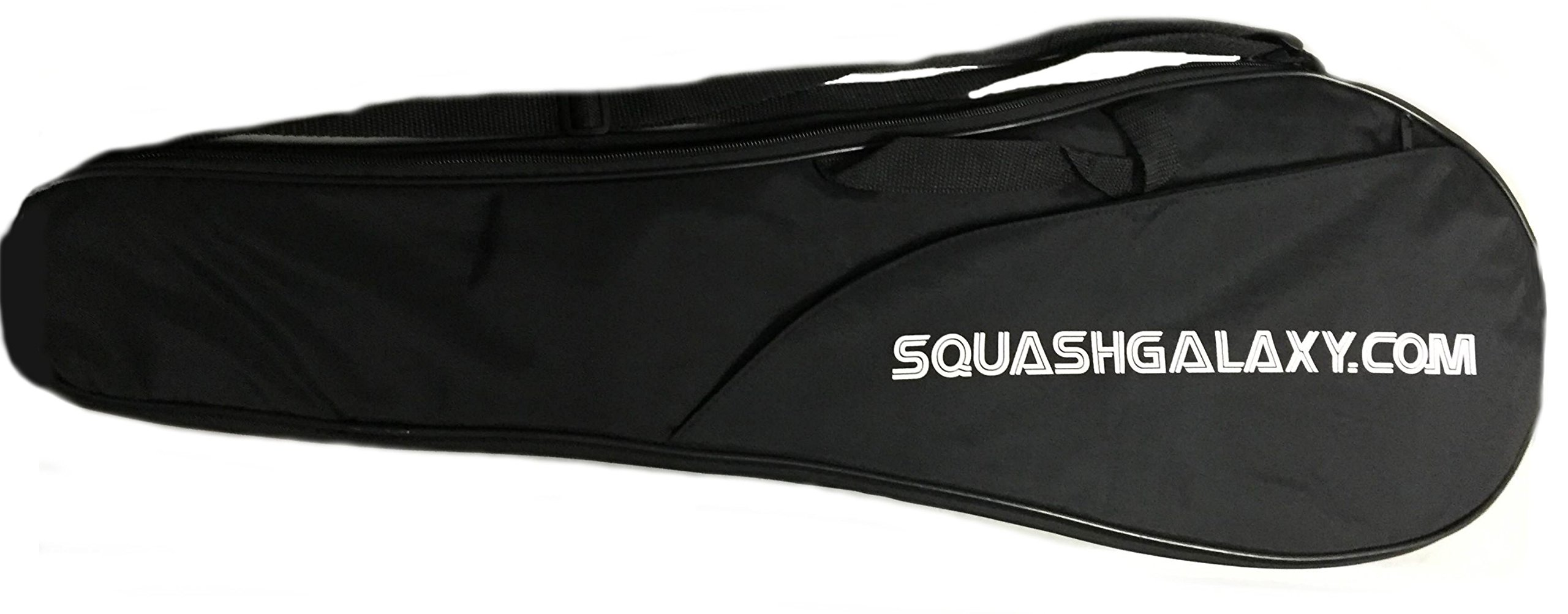 ''Deluxe'' Full Size Squash Racquet Cover w/ Pocket