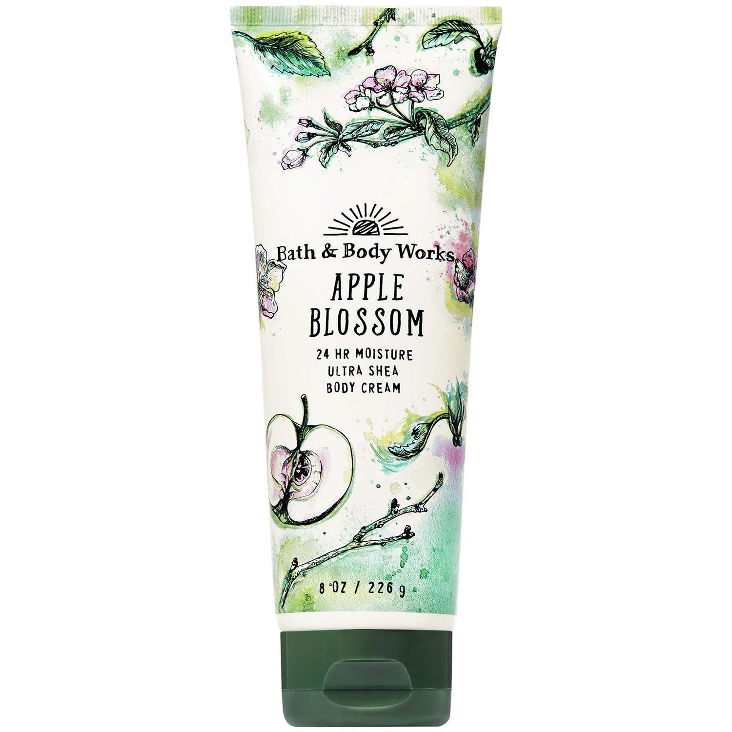 Bath and Body Works Apple Blossom Ultra Shea Body Cream 8 Ounce 2019 Limited Edition