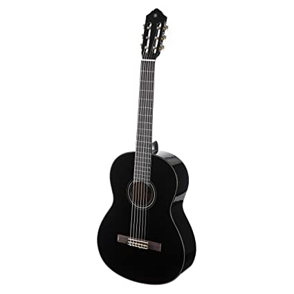 Yamaha C40 Full Size Classical Guitar Black Amazon In Musical Instruments