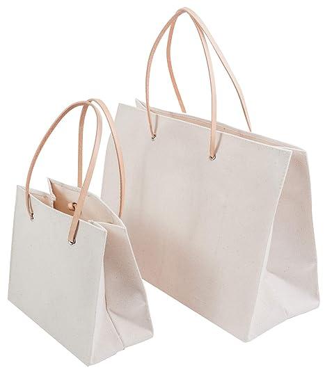 Amazon.com: Bolsa de regalo, hecha a mano, bolsa de lona ...