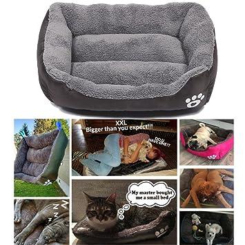 Tpocean Cama cálida para perro material suave para mascotas, otoño e invierno cálido: Amazon.es: Productos para mascotas