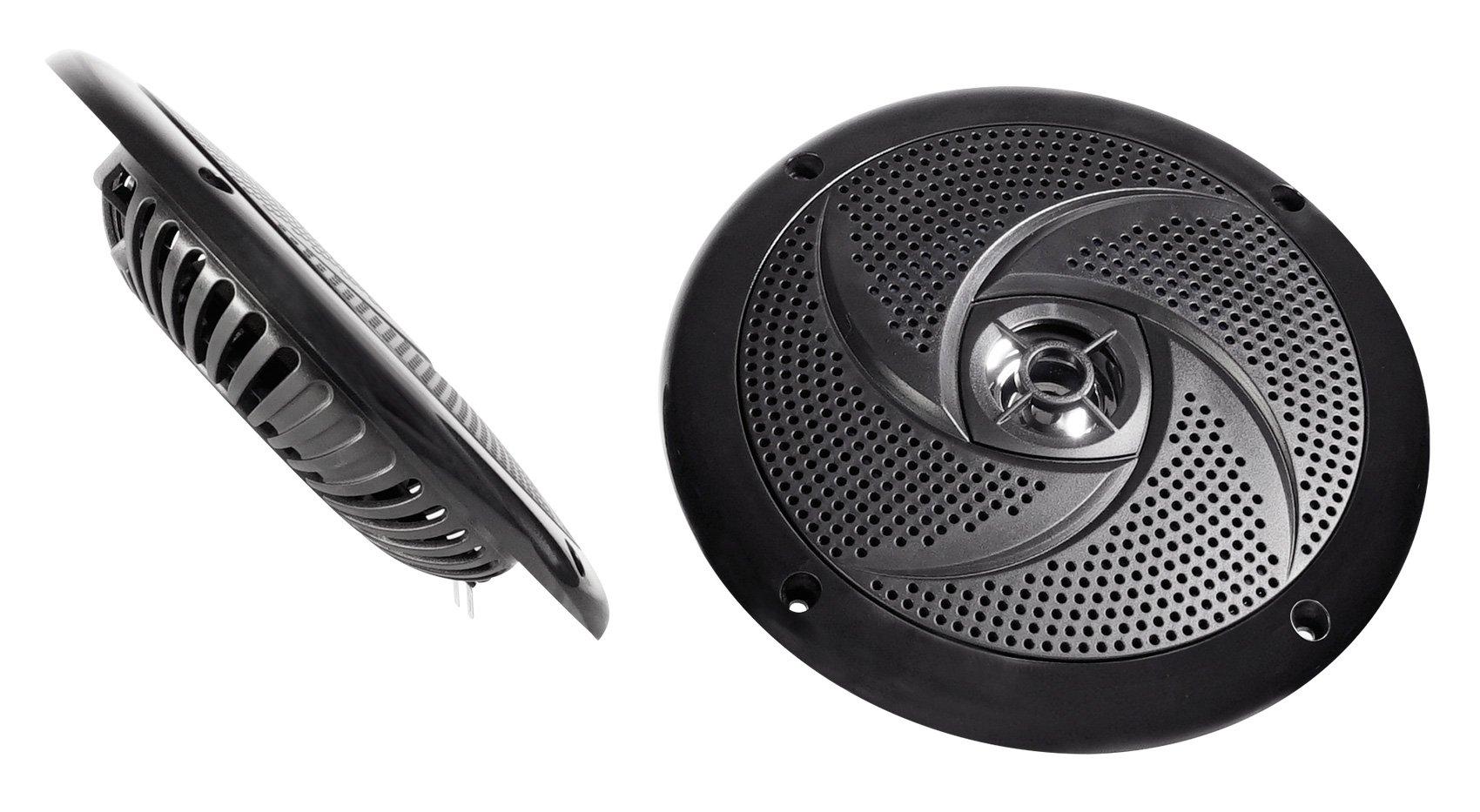 2 Rockville RSM65B 6.5'' 320w Waterproof Shallow Slim Speakers 4 RZR/ATV/UTV/Cart by Rockville (Image #3)