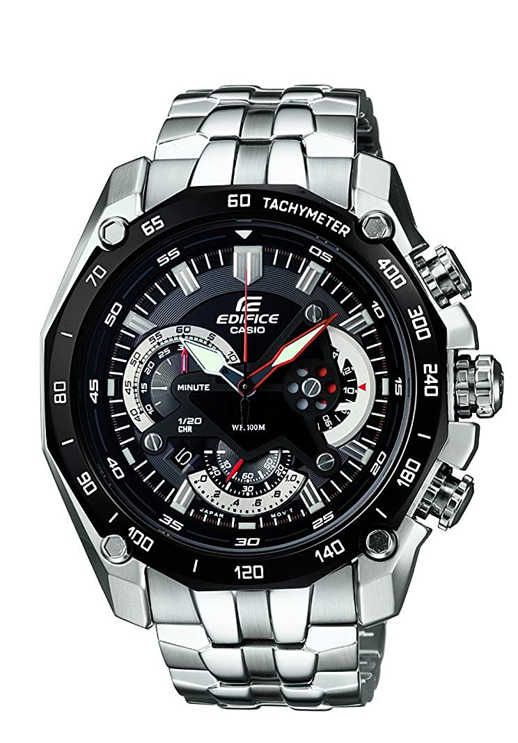 907ffa372711 Buy Casio Edifice Chronograph Black Dial Men s Watch - EF-550D-1AVDF  (ED390) Online at Low Prices in India - Amazon.in