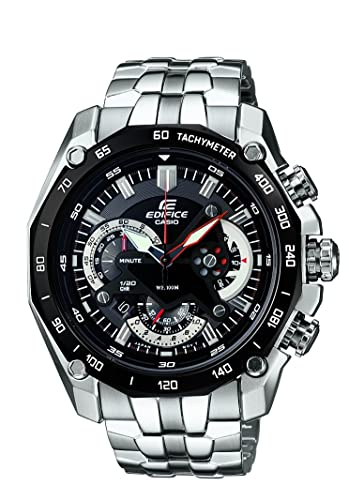 a8faa29b919 Buy Casio Edifice Chronograph Black Dial Men s Watch - EF-550D-1AVDF  (ED390) Online at Low Prices in India - Amazon.in