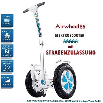 AIRWHEEL S5 Scooter eléctrica con permiso de circulación y ...