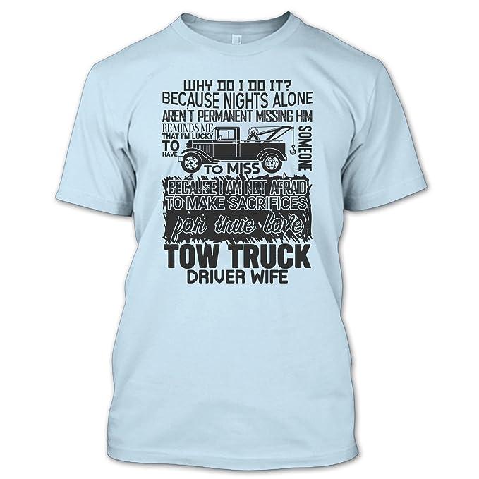 Amazon Com Nana Fan Store True Love Tow Truck Driver Wife T Shirt