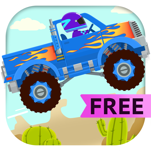 Truck Driver Free - Monster Truck Simulator & Car Driving Games for Kids (Driving Kids)