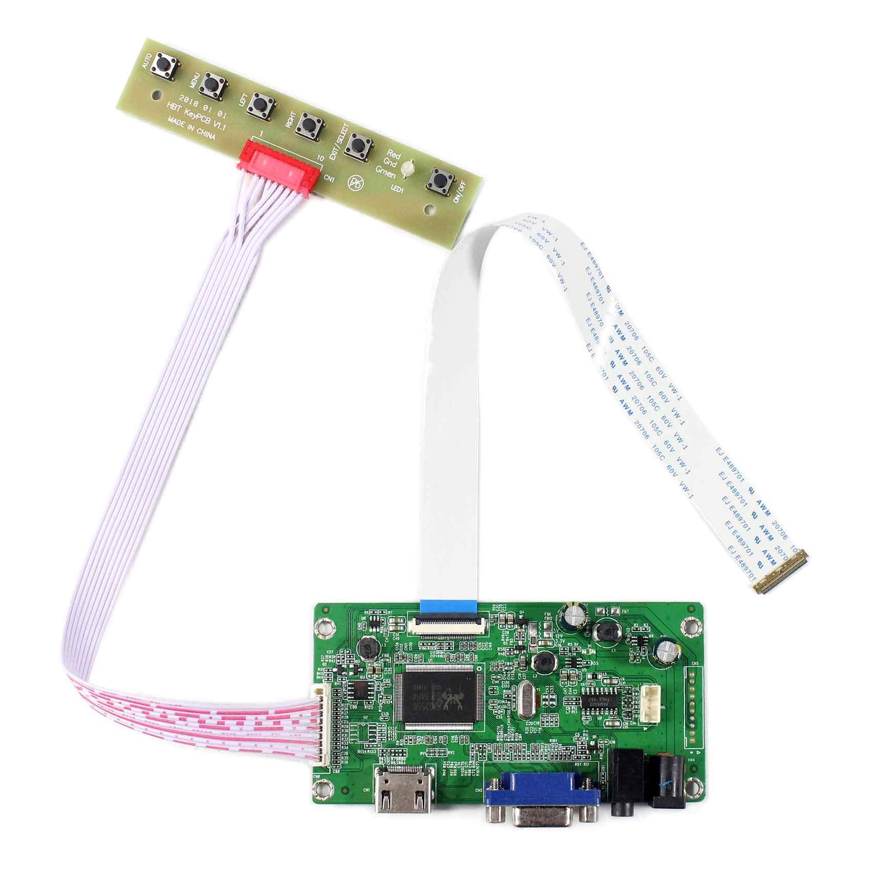 Controladora Lcd Hdmi 13.3 14 15.6 17.3 1920x800 N116hse