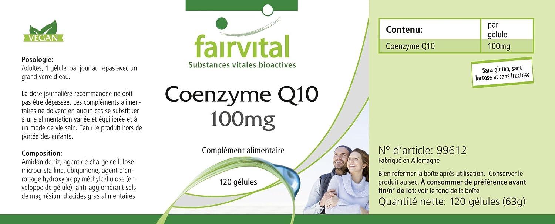 Co-enzima Q10 cápsulas 100mg - GRANEL durante 4 meses ...