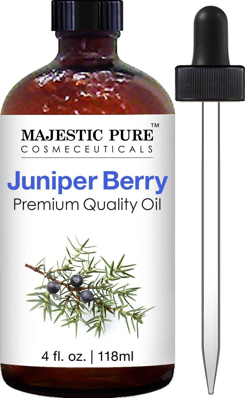 Majestic Pure Juniper Oil, Premium Quality, 4 fl. oz