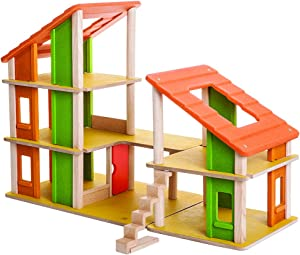 PlanToys Chalet Dollhouse Without Furniture