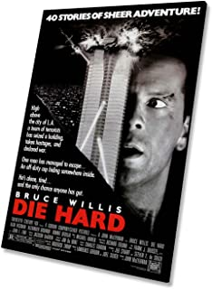 A2 A1 A4 available Die Hard Bruce Willis Vintage Movie Poster A3
