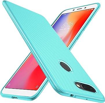 Geemai Xiaomi Redmi 6 Funda Fina de Silicona, Funda Suave y ...