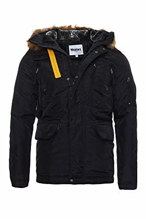 Vielen Herren Parka Funktions Mit Mentex Winterjacke Mantel R435jAL