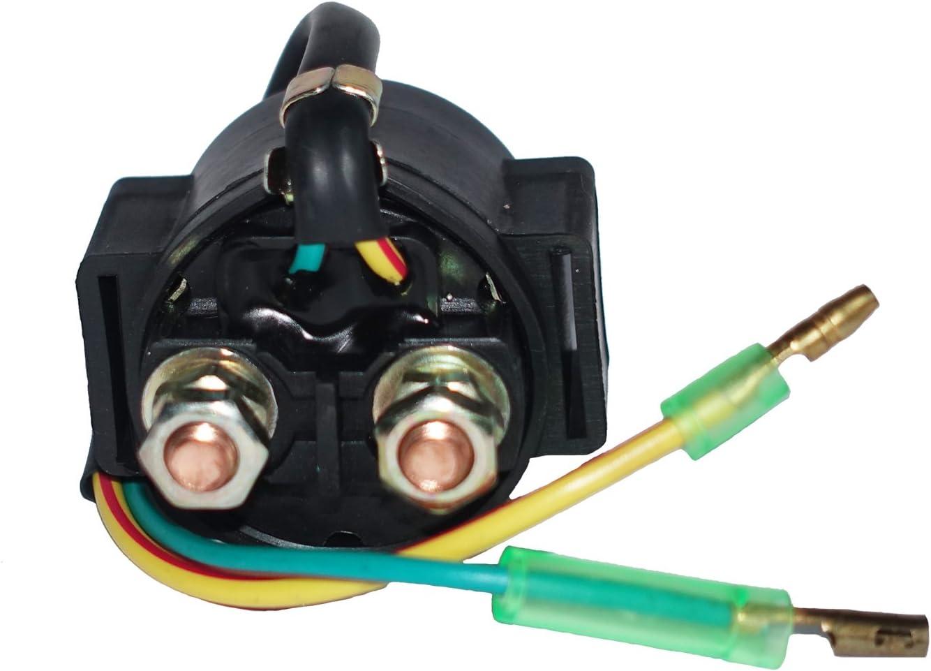 Motadin Starter Relay Solenoid for Honda C70 CM250C CM450A CM450E 1982-1983