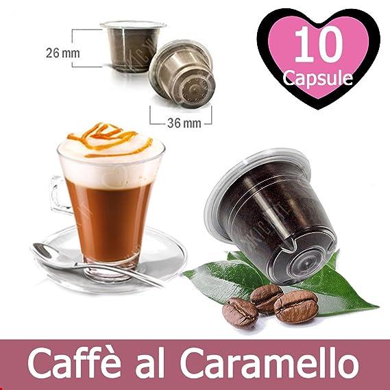 10 Capsulas Café Sabor Caramelo Compatibles Nespresso - Café Kickkick