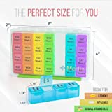 Monthly Pill Organizer, Daily Month Pill Box, 28
