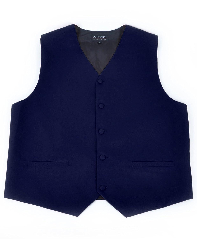 boxed-gifts Men's Poly Twill Full Back Tuxedo Vest