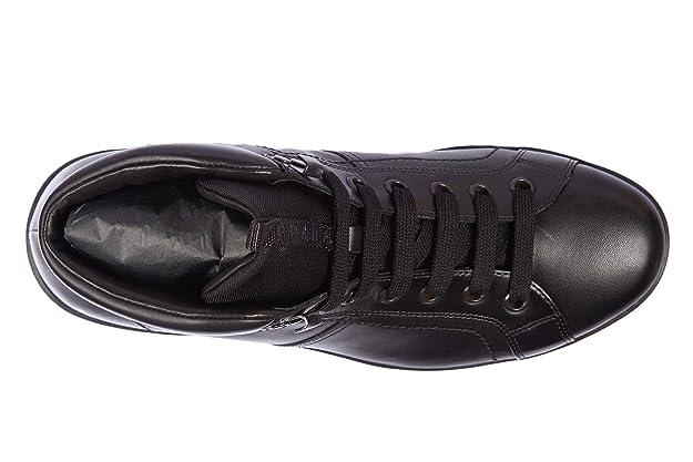 f5646fbf4cf8e Prada Leder Stiefel Herren Boots Plume Kalbsleder Schwarz EU 44 4T2770 3O9U  F0002  Amazon.de  Schuhe   Handtaschen