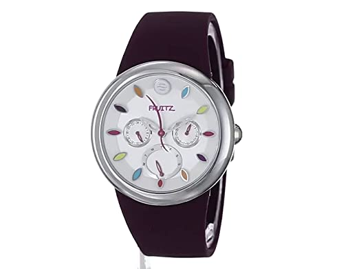 Amazon.com  Fruitz by Philip Stein Unisex F43S-TF-PR Stainless Steel Watch  With Purple Band  Watches a972eab14b
