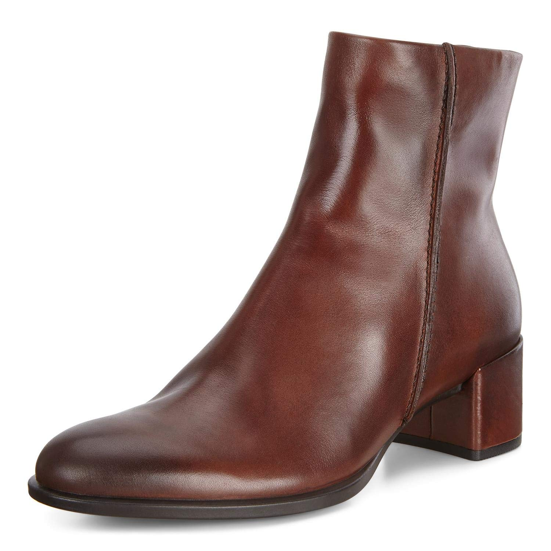 Mittel-braun ECCO Damen Shape 35 Block Ankle Stiefel Stiefeletten